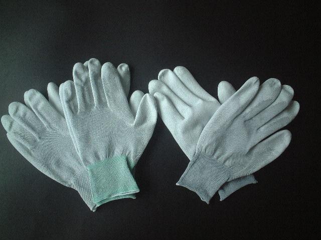 制電カーボン ウレタン手袋  画像クリックで拡大 型番/品名 制電カーボン ウレタン手袋 サイズ